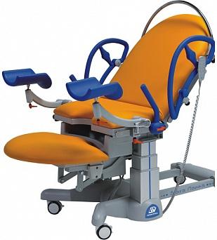 Акушерское кресло: Кресло для родовспоможения, трех-секционное, с электрическими регулировками, 19-PO800