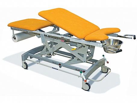 Гинекологический смотровой стол с электрической регулировкой высоты Lojer Afia 4050
